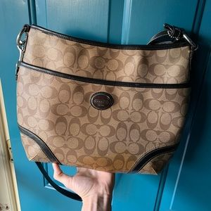 Coach Brown medium sized purse